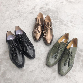 AM革ローファー(ローファー/革靴)