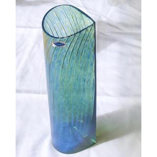イッタラ(iittala)のInkeri Toikka Nuutajarvi ヌータラヤルヴィ ベース 花瓶(花瓶)
