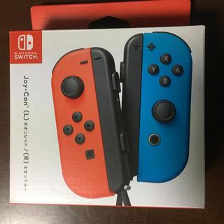 Nintendo Switch - Joy-Con(L) ネオンレッド/(R) ネオンブルー