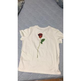バレンシアガ(Balenciaga)のBALENCIAGA  シャツ ローズ(Tシャツ(半袖/袖なし))