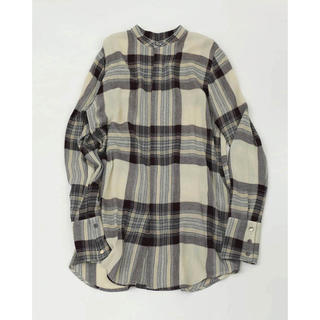 TODAYFUL - 新品 TODAYFUL Softwool Long Shirts チェックシャツ