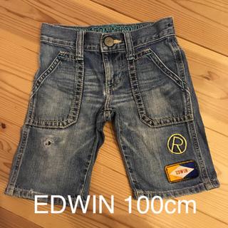 エドウィン(EDWIN)のジーンズハーフパンツ EDWIN 100cm(パンツ/スパッツ)