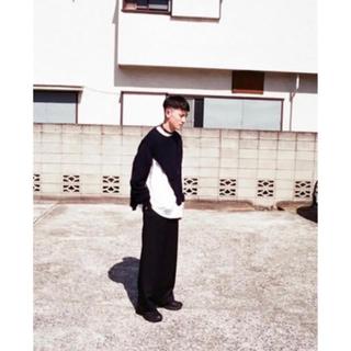 ジョンローレンスサリバン(JOHN LAWRENCE SULLIVAN)の【超希少】Kudos スリットニット サイズ2 クードス slit Knit(ニット/セーター)