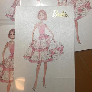 バービー(Barbie)のBarbie バービー ハガキ 7枚 シャドーボックス (その他)