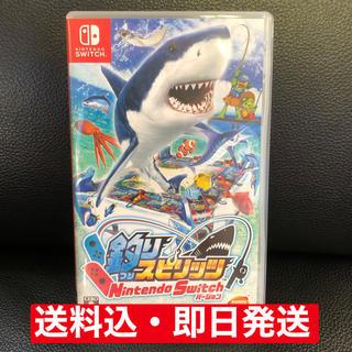 Nintendo Switch - ☆Switch☆釣りスピリッツ☆送料込☆