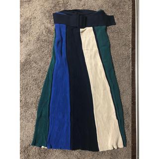ミラオーウェン(Mila Owen)のミラオーウェン リブスカート(ひざ丈スカート)