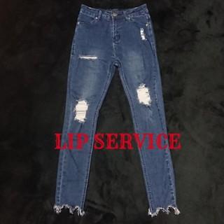 リップサービス(LIP SERVICE)のLIP SERVICE ダメージデニム(デニム/ジーンズ)