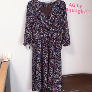 AG by aquagirl - 10/16まで値下げ♡エージーバイアクアガール♡ワンピース♡花柄