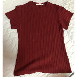 SCOT CLUB - ラディエイト リブTシャツ 半袖 カットソー