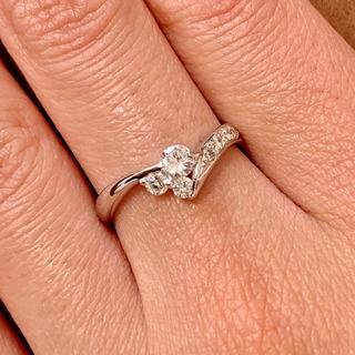 エタニティリング ダイヤモンド  プラチナ ダイヤモンドリング(リング(指輪))