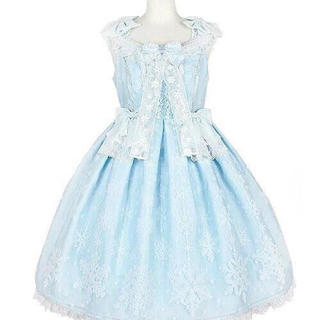 Angelic Pretty - angelic pretty jewlery snow ワンピース