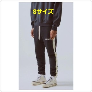FEAR OF GOD - S FOG ESSENTIAL SideStripe Sweatpants ⑤