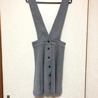 【新品】サロペット スカート ジャンパースカート