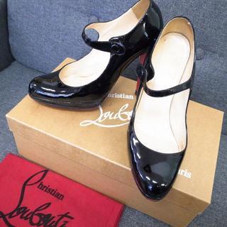 クリスチャンルブタン(Christian Louboutin)の正規品☆ルブタン パンプス エナメル 靴 ミュール ハイヒール バッグ 財布(ハイヒール/パンプス)