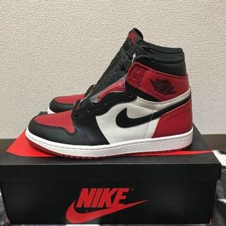 NIKE - NIKE AIR JORDAN 1 RETRO HIGH OG BRED TOE