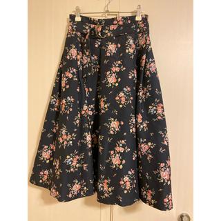 dazzlin - ダズリン 花柄スカート
