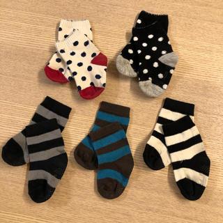西松屋 - 464・【使用感有】西松屋♡靴下(9〜14cm)