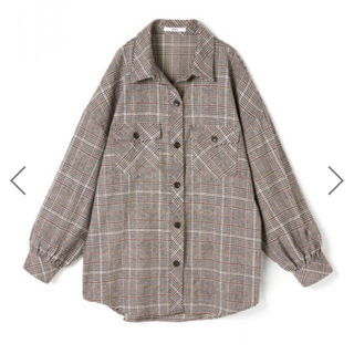 GRL - 【GRL】オーバーサイズチェックシャツ