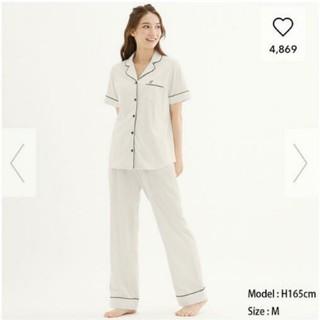 GU - 新品 タグつき ルームウェア ホワイト パジャマ