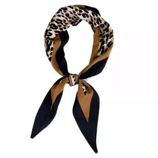 トゥデイフル(TODAYFUL)のDia leopard scarf No.150(バンダナ/スカーフ)