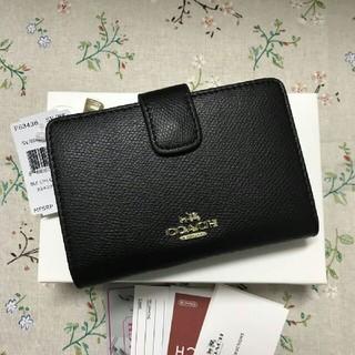 COACH - 人気 新品(COACH )二つ折り 財布F53436
