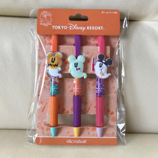 Disney - ディズニー リゾート 2019 ハロウィン ボールペン 3本