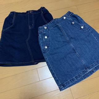 ジーユー(GU)のGU ☆ スカート 2点 150(スカート)