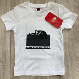 ザノースフェイス(THE NORTH FACE)の【海外限定】人気 TNF ノースフェイス ボックスロゴ キッズ Tシャツ 120(Tシャツ/カットソー)