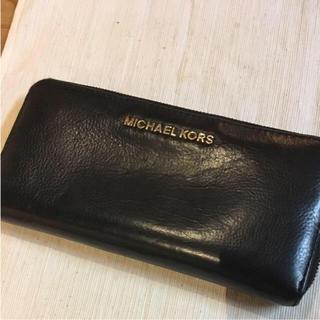 マイケルコース(Michael Kors)のマイケルコース 長財布 ブラック(財布)