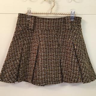 INGNI - CLUMZY ツイードスカート