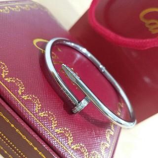 カルティエ(Cartier)の新品Cartier ブレスレット バングル レディース 箱付き シルバー(ブレスレット/バングル)