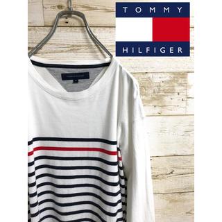 トミーヒルフィガー(TOMMY HILFIGER)のTOMMY HILFIGER トミーヒルフィルガー ロングTシャツ(Tシャツ/カットソー(七分/長袖))