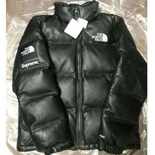 Supreme - Mサイズ supreme north face leather nuptse