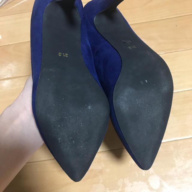 スウェードパンプス レディースの靴/シューズ(ハイヒール/パンプス)の商品写真