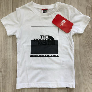 ザノースフェイス(THE NORTH FACE)の【海外限定】ザ ノースフェイス キッズ ボックス Tシャツ 130(Tシャツ/カットソー)