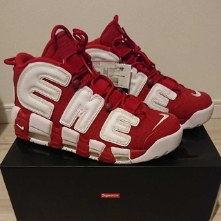 Supreme - Supreme NIKE AIR MORE UPTEMPO シュプテン モアテン