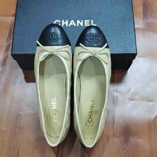 CHANEL - 超人気Chanel シャネル バレリーナ バレエ シューズ 正規品