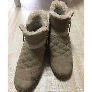 ヴァンズ(VANS)のVANS ボア ムートン ブーツ 24.0 厚底(ブーツ)