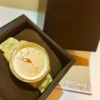 マイケルコース(Michael Kors)の【電池有/超美品】マイケルコース / ゴールド(腕時計)