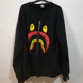 A BATHING APE - A bathing ape シャーク スエットXL