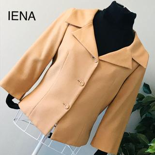 イエナ(IENA)のイエナのジャケット 七分袖 モヘア混(テーラードジャケット)