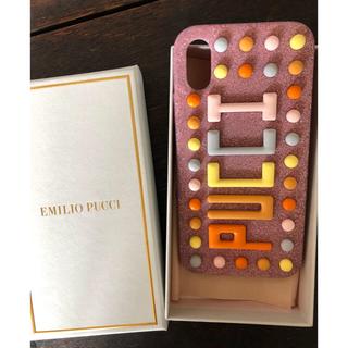 エミリオプッチ(EMILIO PUCCI)のプッチ EMILIO PUCCI iphone x ケース(iPhoneケース)