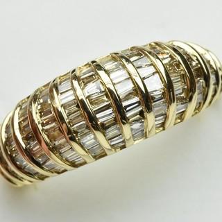 専用です K18 ゴールド 合計 1.00ct ダイヤリング 12号 指輪  (リング(指輪))