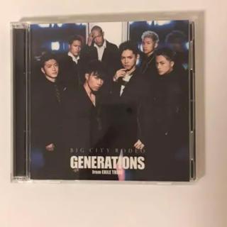 ジェネレーションズ(GENERATIONS)のGENERATIONS from EXILE TRIBEのCD&Blu-ray(ミュージック)
