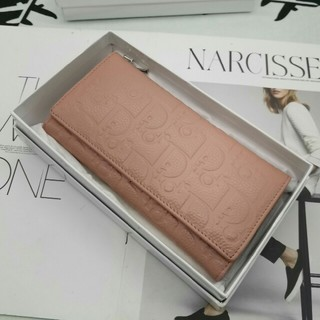 Dior - お勧めDiorデイオール 長財布カード入れ、小銭入れ ピンク