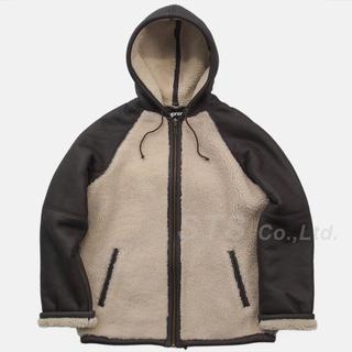 Supreme - Supreme Reversed Shearling Hooded Jacket