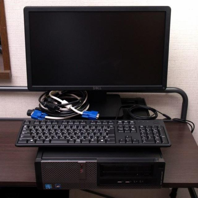 DELL(デル)のoffice付 デスクトップパソコン DELL Windows7 美品・初期化済 スマホ/家電/カメラのPC/タブレット(デスクトップ型PC)の商品写真