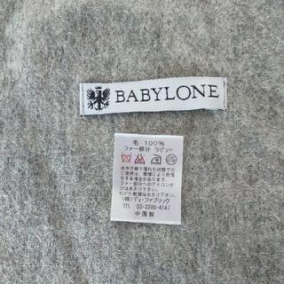 BABYLONE - BABYLONEラビットファー付きストール