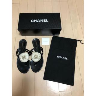 CHANEL - CHANEL シャネル サンダル 38