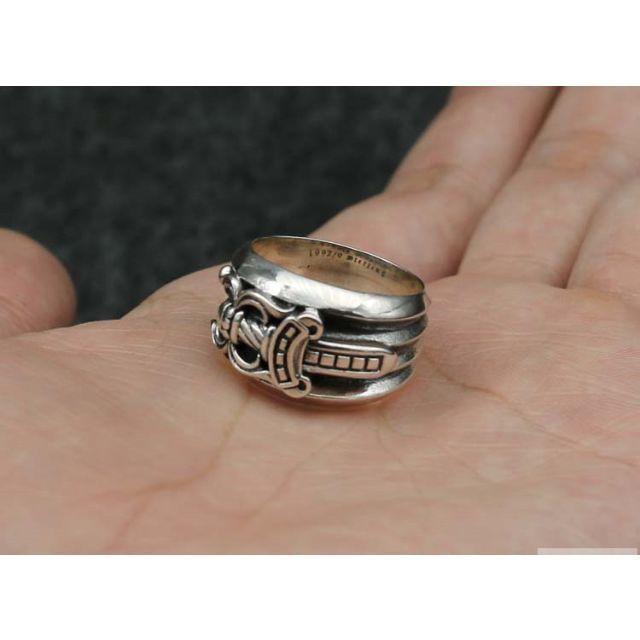 Chrome Hearts(クロムハーツ)のK96クロムハーツ ダガーリング メンズのアクセサリー(リング(指輪))の商品写真